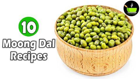 1 Cup Moong Dal 10 Healthy Recipes | Green Gram Dal Recipes | High Protein Recipes | Healthy Recipes