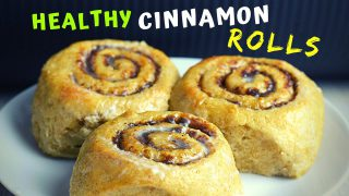 Healthy Cinnamon Rolls (a LIFE-CHANGING recipe! It's lower in calories!)