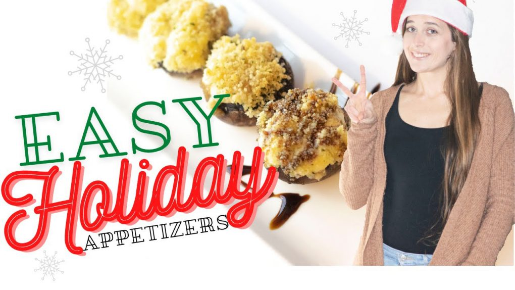 2 EASY HOLIDAY APPETIZER RECIPES
