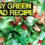 EASY GREEN SALAD RECIPE