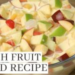 FRUIT SALAD RECIPE WITH FRESH FRUITS ( Filipino Food Dessert )