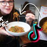 recreating vegetarian tiktok recipes | you NEED to make these!