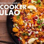 Quick Veg Pulao Recipe in Cooker | No Onion No Garlic | Navratri Special | Chef Sanjyot Keer