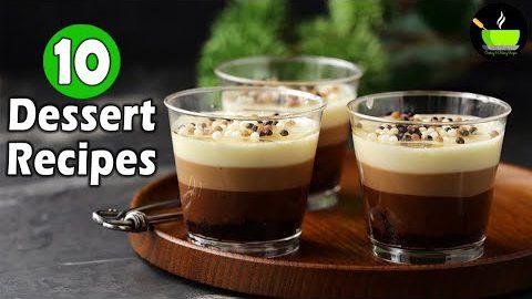 10 Easy Dessert Recipes | Popular Dessert Recipes | Best Indian Dessert Recipes | Quick  Desserts