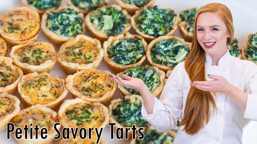 Petite Quiche and Ricotta Tartlets – Easy Appetizer Recipes!