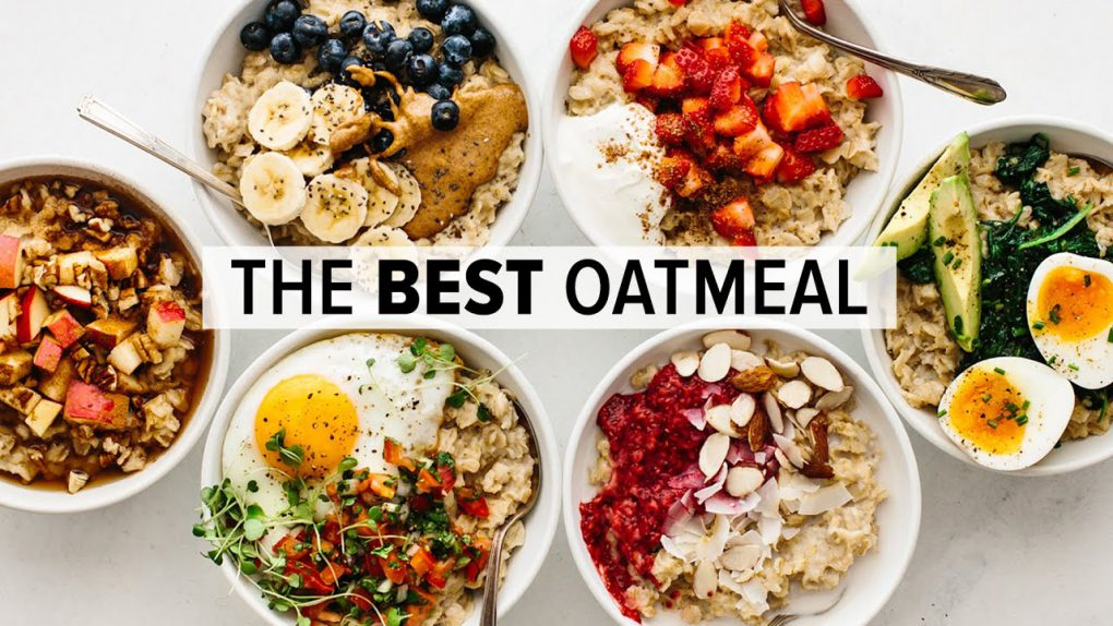 EASY OATMEAL RECIPE | with sweet & savory flavors
