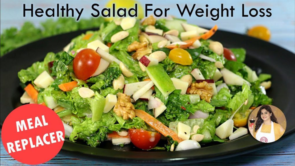 Weight Loss Salad Recipe for Lunch/Dinner – Healthy Recipe to Lose Weight | Kale Salad