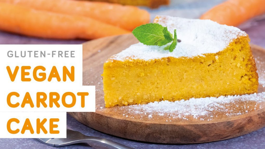 Gluten-free vegan carrot cake – easy recipe