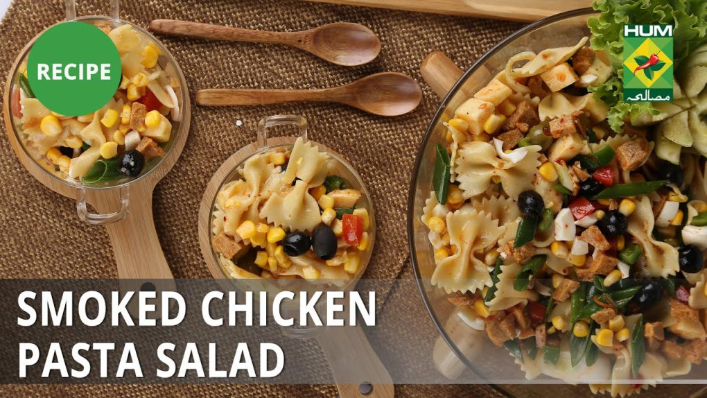 Smoked Chicken Pasta Salad Recipe | Masala Mornings |  Shireen Anwar | Appetizer