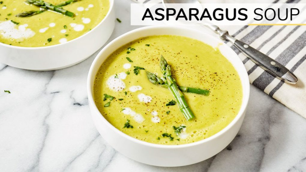 ASPARAGUS SOUP | easy vegan recipe