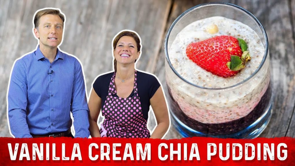 Keto Vanilla Chia Pudding Recipe | Karen and Eric Berg