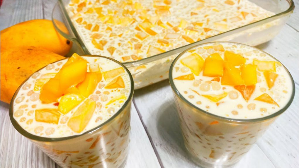 Mango Tapioca recipe | Manga at sago panlasang Filipino Pinoy dessert
