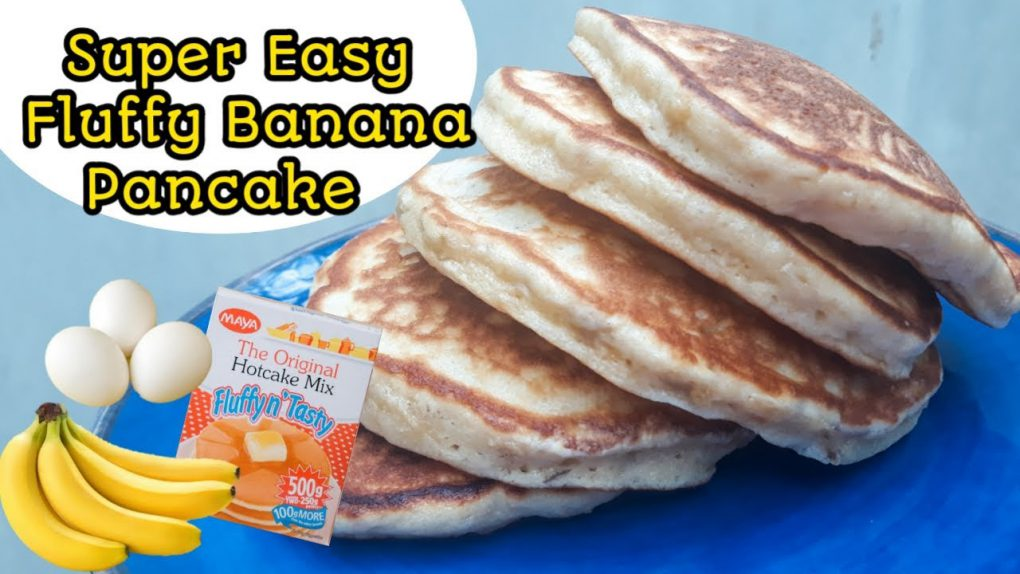BANANA PANCAKES RECIPE | AFFORDABLE | QUICK AND EASY | 3 INGREDIENTS | KIDS SNACKS
