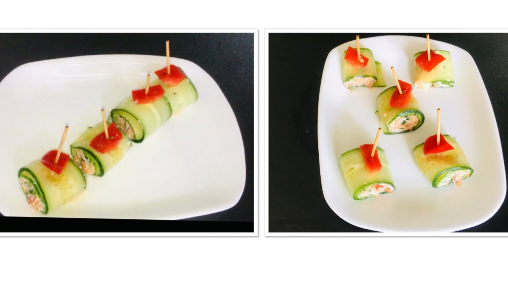 Cucumber Rolls   Appetizer recipes   Easy starters – Foodie
