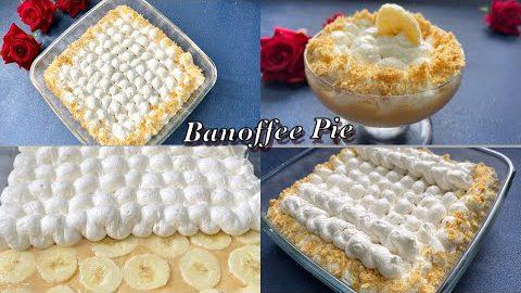Banoffee Pie Recipe | Easy Dessert Recipe |  Banoffee Pudding