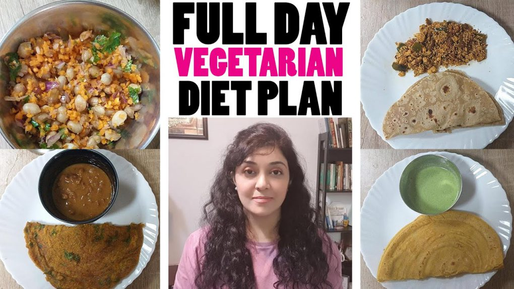 Full Day Healthy Vegetarian Recipes For Weight Loss by Dr. Sadia Shaikh