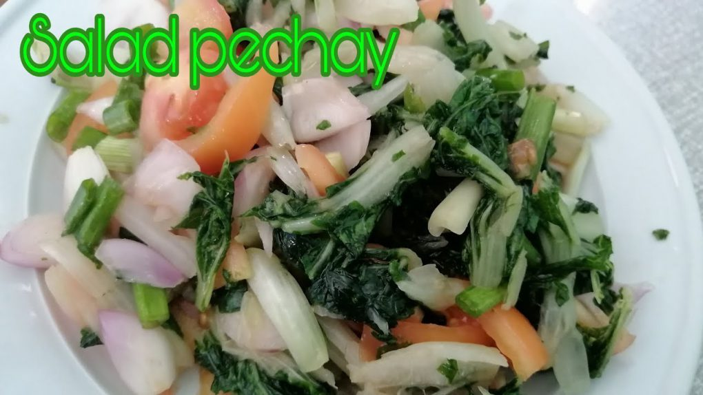 How to make Chinese Cabbage with fish sauce / salad recipe