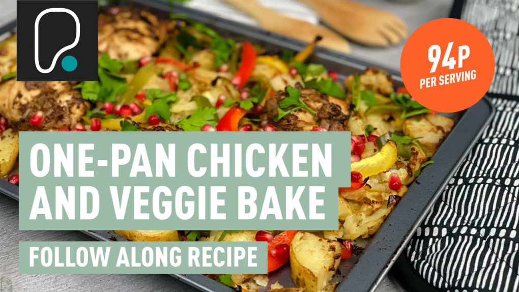 PureGym Recipes | One-Pan Chicken and Veggie Bake Recipe