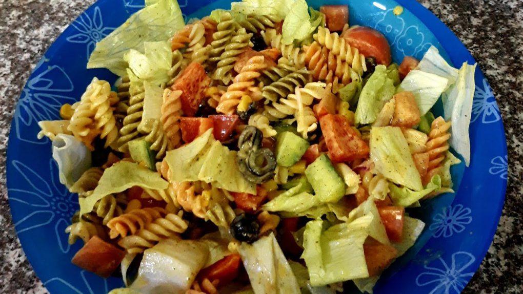 Italian pasta salad recipe|healthy italian pasta salad
