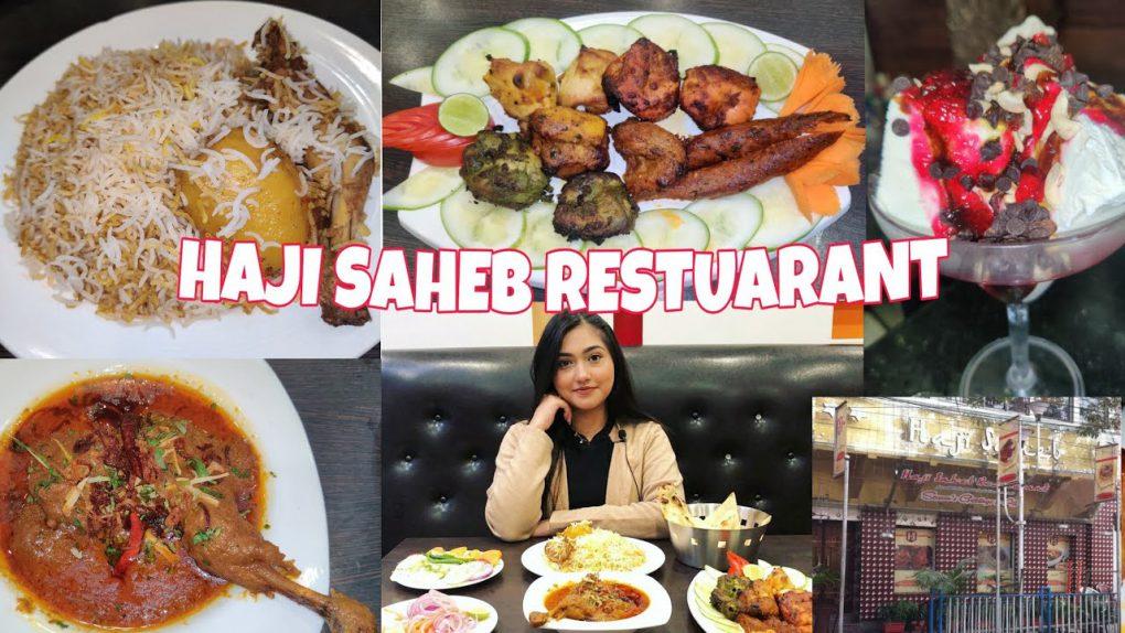 HAJI SAHEB ( PARK CIRCUS ) | KEBABS AND MAIN COURSE | FOOD VLOG | FOOD PLACE REVIEW | SHILPA PANDEY