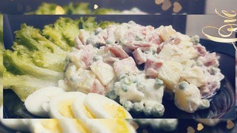 How to make Russian Salad | Best Healthy and tasty salad recipe by Foodart | Amber Imran