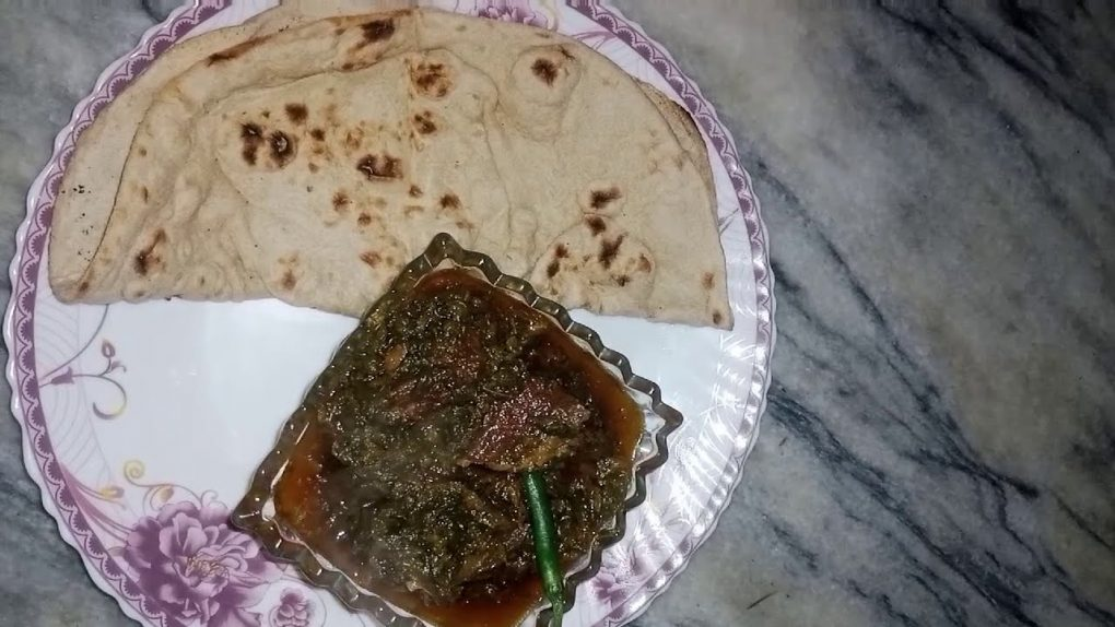 20 minute main lazeez Palak Gosht Ready Asan recipe…!!!