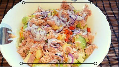 BEST TUNA FISH SALAD RECIPE | easy & healthy