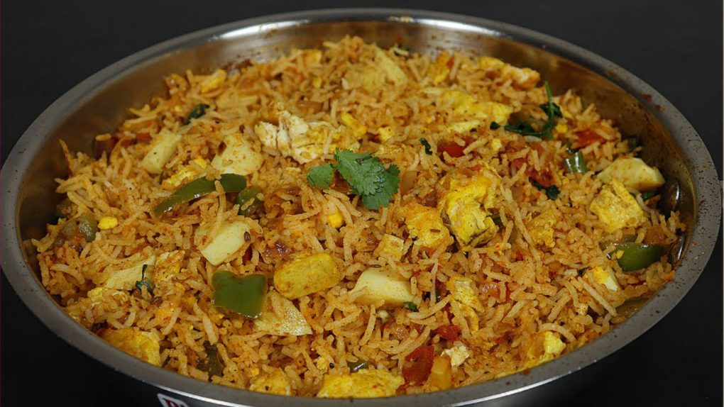 கடாய் முட்டை புலாவ் | Egg pulao recipe in kadai | quick dinner recipe | quick lunch recipe