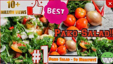 Pako Salad Recipe || Simpleng Masustansya