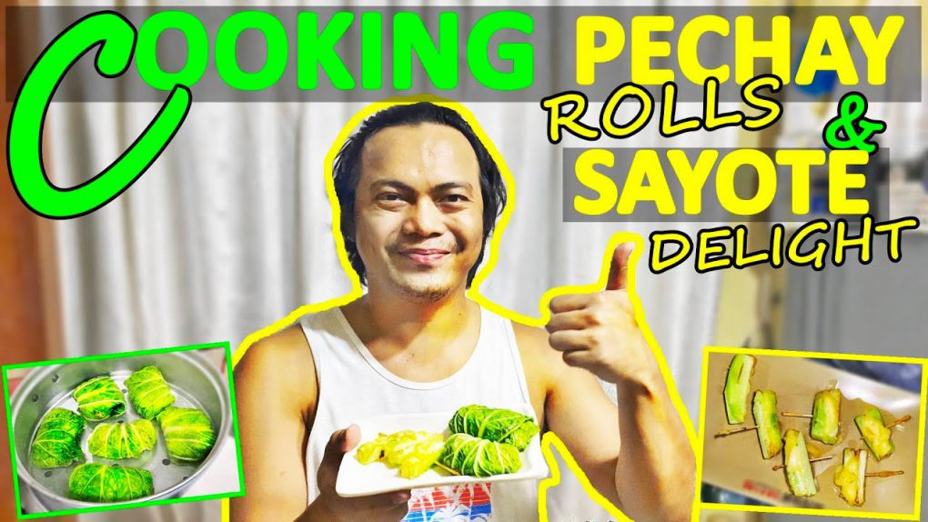 Cooking Sayote Delight and Pechay Rolls | A MUST TRY RECIPE