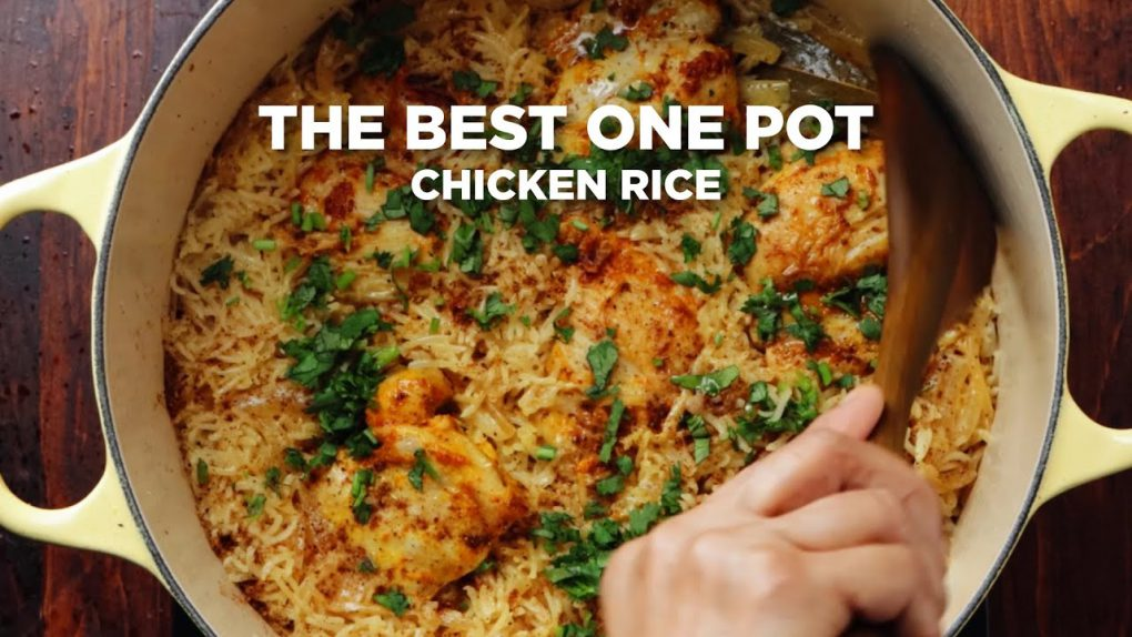 HOW TO MAKE THE BEST ONE POT CHICKEN RICE