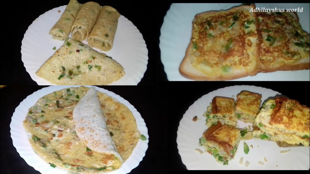 5minute Quick and easy 4 egg breakfast recipes|Adhilayshus world