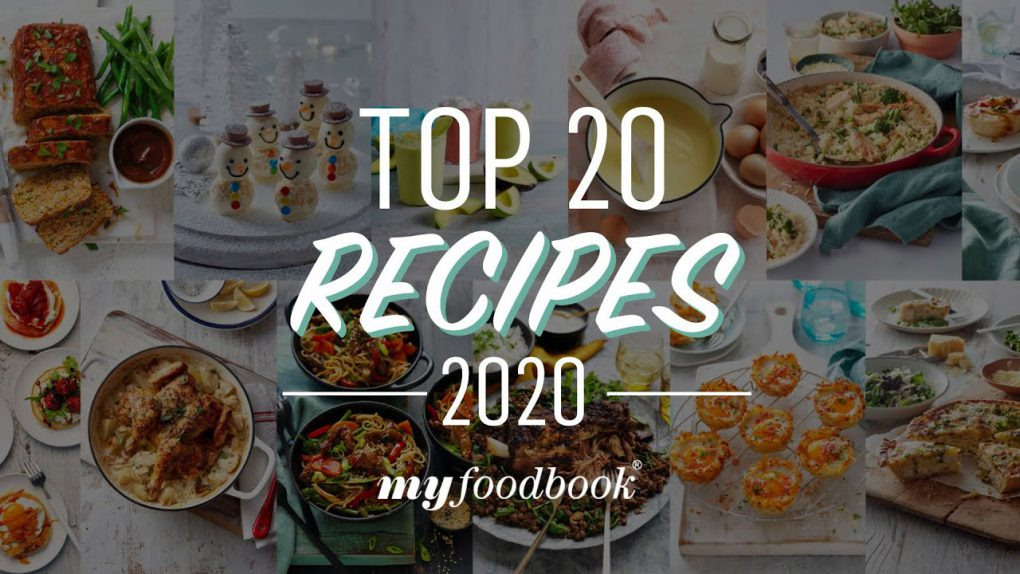 The best dinner and dessert recipes from 2020 featured on myfoodbook!