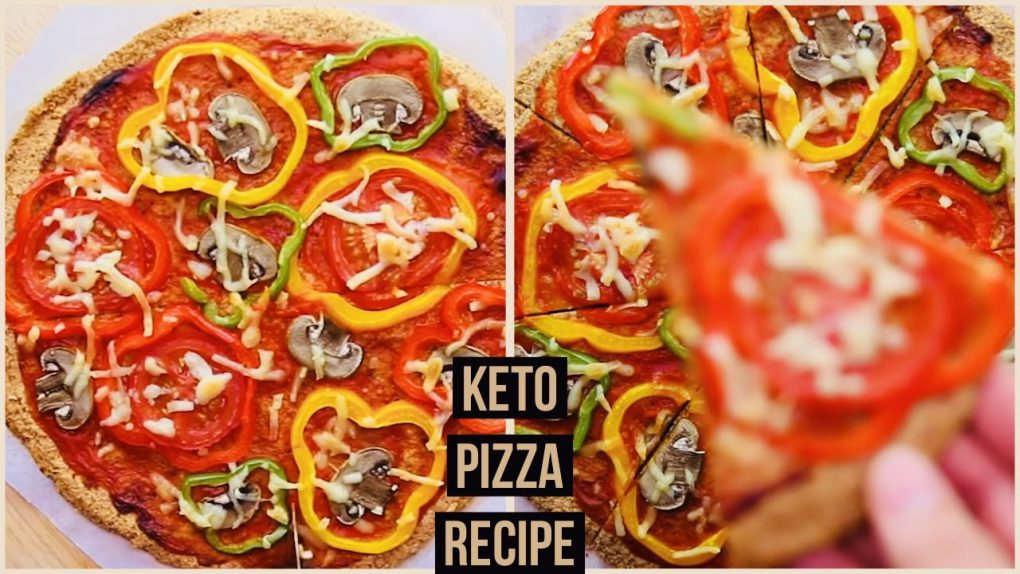 LOW CARB KETO Pizza in 10 MINUTES | The BEST KETO Pizza Recipe | BETTER Than Fat Head Pizza Crust!