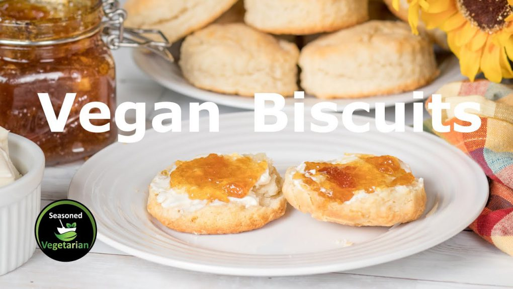Flaky and Fluffy VEGAN BISCUITS – Easy Recipe! ~ The Seasoned Vegetarian