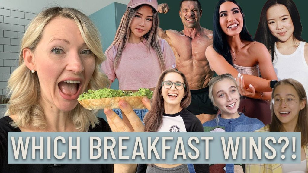 Dietitian Taste Tests YouTuber Breakfast Recipes (Some of these are um, interesting…)