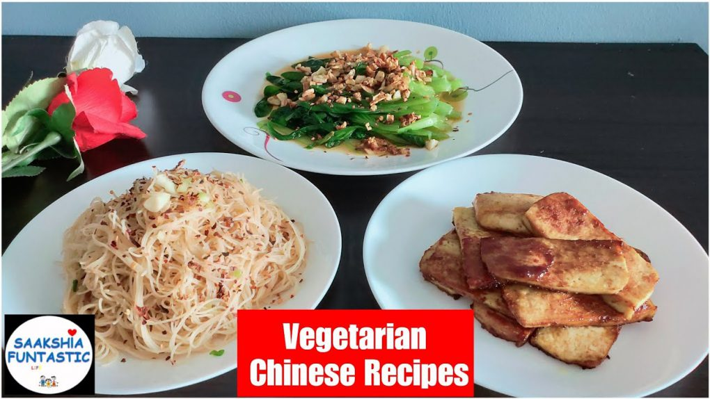 3 Easy Chinese Vegetarian Recipes |How to Stir Fry Vegetables |Sweet and Sour Tofu |Bee Hoon recipe