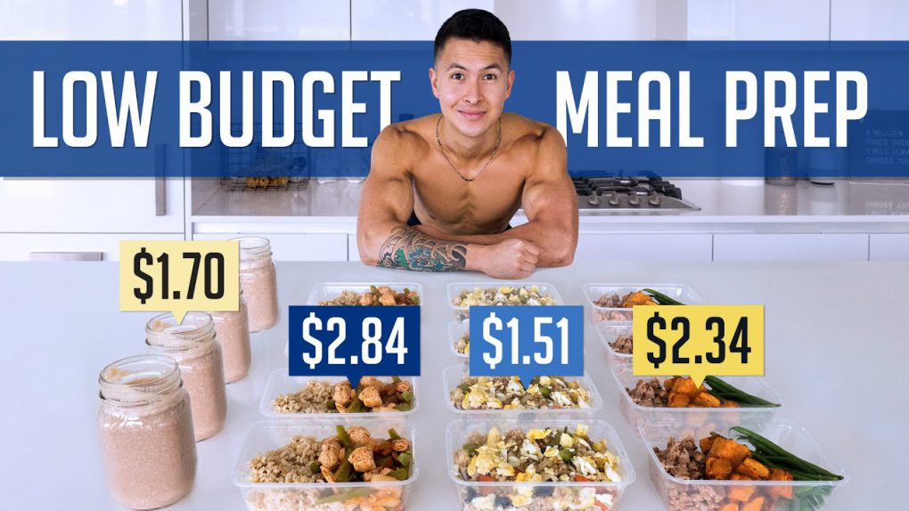 How To Build Muscle For $8/Day (HEALTHY MEAL PREP ON A BUDGET)