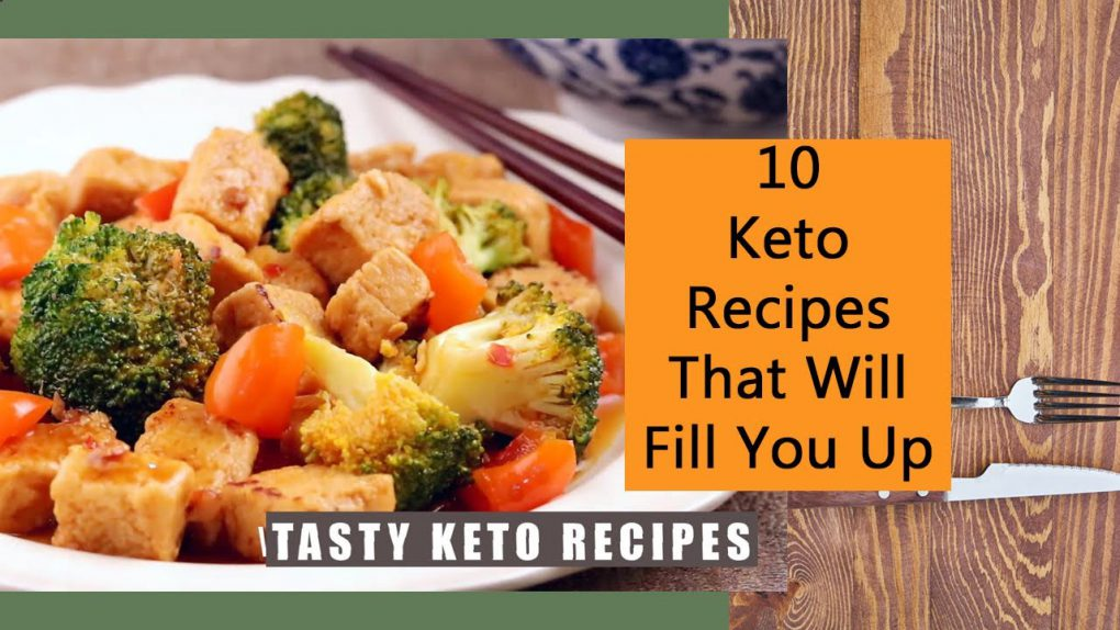 10 Keto Recipes That Will Fill You Up | Tasty Keto Recipes ▶3