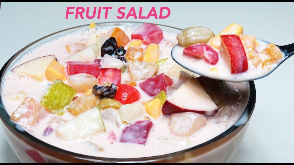 FRUIT SALAD FILIPINO STYLE   CREAMY FRUIT SALAD