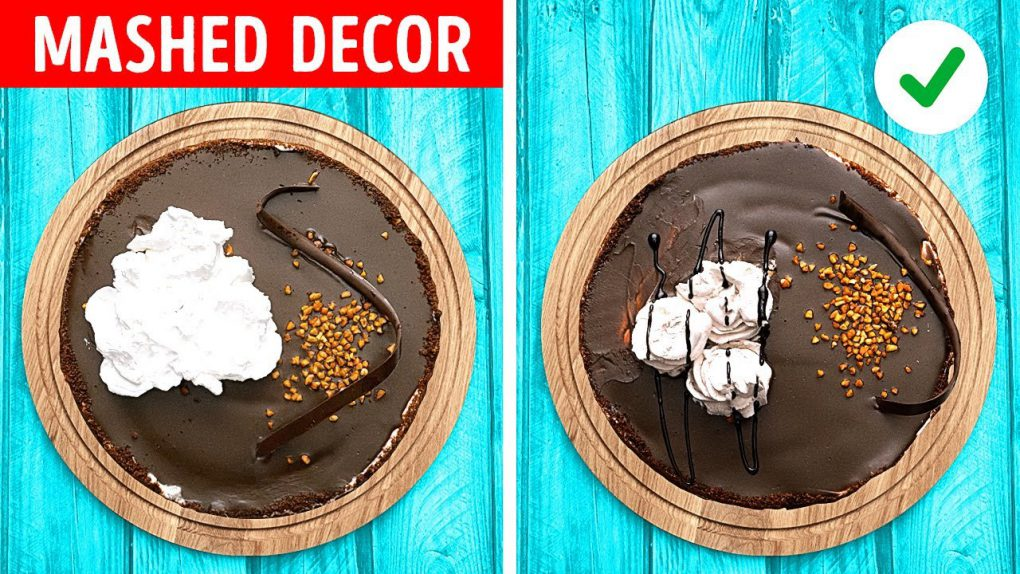 Simple And Beautiful Dessert Decoration Ideas by 5-Minute Recipes!