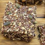 Healthy Seed Crackers Recipe | Gluten free, Low Carb and Vegan