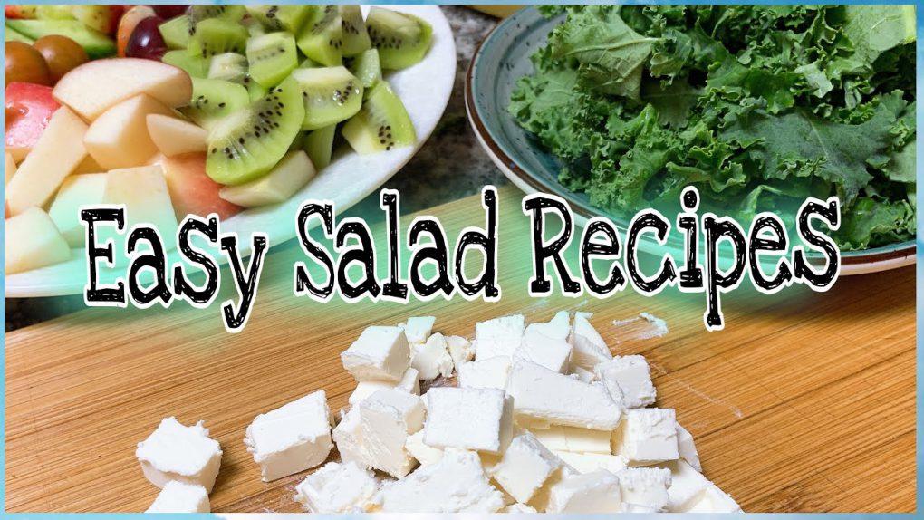 Simple Recipe for Vegan Salad  Quick /Easy