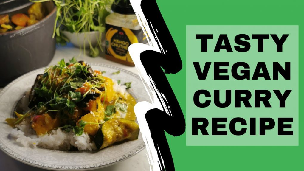 Tasty vegan curry recipe