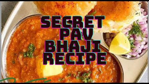 MY SECRET PAV BHAJI RECIPE | STREET STYLE HEALTHY VEGETARIAN RECIPE | BEST DELICIOUS PAV BHAJI