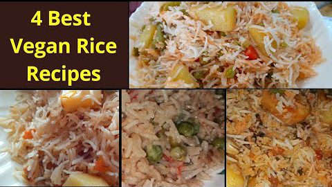 4 Easy Vegetarian Variety Rice Recipes for Lunch ||Instant Pot Vegetarian / Vegan Recipes Indian
