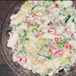 Vegetable Salad/Mayo Salad Recipe/Chilly Kitchen Recipe
