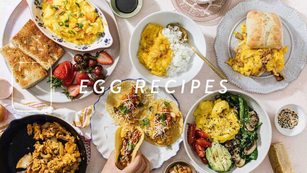 5 EGG Recipes for Breakfast – Easy Scrambled Eggs Recipes