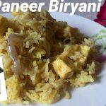 Quick Paneer Biryani Recipe – Restaurant Style | Indian Main Course Recipes | Vegetarian biryani