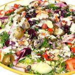 Jerk Chicken Salad ! How To Make Best Jamaican Jerk Chicken Salad | Recipe By Chef Ricardo Cooking ❤